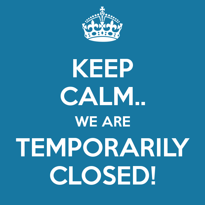 Restaurant temporarily closed – Takeaway still available