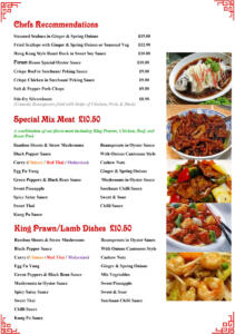 The Forum - In House Menu 2019-4