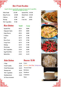 The Forum - In House Menu 2019-7