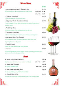 The Forum - In House Menu 2019-9